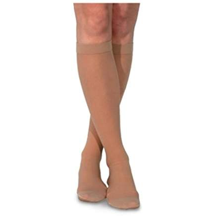 Sigvaris Knee-High Closed Toe Sheer Fashion Hosiery Sock (Various Colors & Sizes)