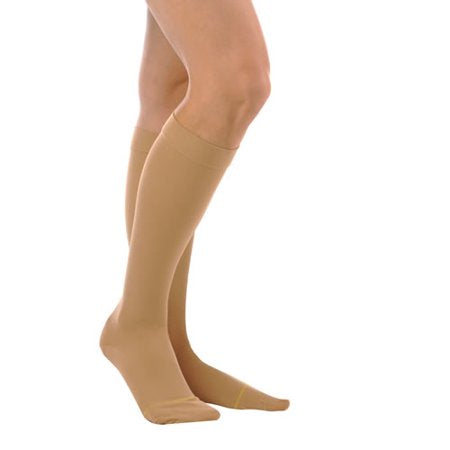 Alex For Her Sheer Support Knee High Closed-Toe Socks 20-30 mmHg