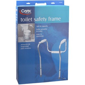 Carex Toilet Safety Frame Item#B358-00 Carex Toilet Safety Frame Item#B358-00 Toilet Seat Risers Carex - Americare Medical Supply