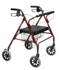 Drive Go-Lite Bariatric Steel Rollator Drive Go-Lite Bariatric Steel Rollator Rollators Drive - Americare Medical Supply