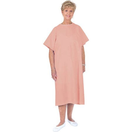 Essential Medical Supply Standard Gown, Pink Essential Medical Supply Standard Gown, Pink Medical Gowns Essential Medical Supply - Americare Medical Supply