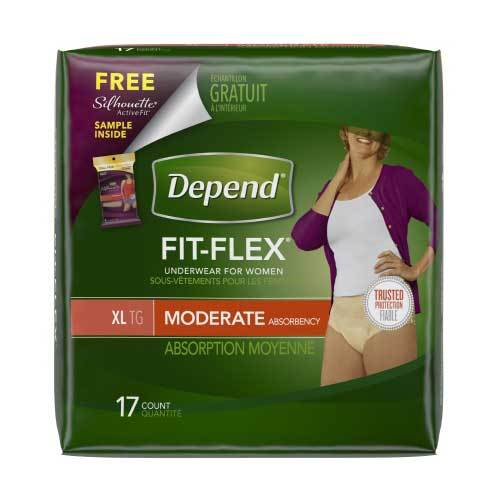 Depend Fit-Flex Pull On Absorbent Underwear - Moderate Absorbency Depend Fit-Flex Pull On Absorbent Underwear - Moderate Absorbency Pull-On Briefs Depend - Americare Medical Supply