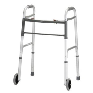 "Nova Front Wheel Walker w/5"" wheels 2 button Release Nova Front Wheel Walker w/5"" wheels 2 button Release Walkers Nova Medical - Americare Medical Supply"