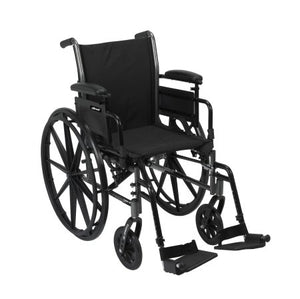 Lightweight Wheelchair McKesson Dual Axle Desk Length Arm Flip Back 20 Inch Seat Lightweight Wheelchair McKesson Dual Axle Desk Length Arm Flip Back 20 Inch Seat Lightweight Wheelchair McKesson - Americare Medical Supply