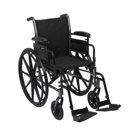 Lightweight Wheelchair McKesson Dual Axle Desk Length Arm Flip Back 18 Inch Seat Lightweight Wheelchair McKesson Dual Axle Desk Length Arm Flip Back 18 Inch Seat Lightweight Wheelchair McKesson - Americare Medical Supply
