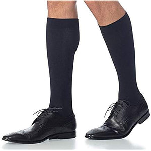 Sigvaris Men Knee High Midtown Microfiber Medical Compression Stockings 15-20 mmHg