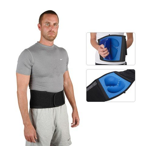 Ossur Industrial Back Support with Hot/Cold Therapy