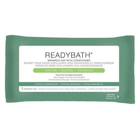 Medline Shampoo Cap w/conditioner Readybath Medline Shampoo Cap w/conditioner Readybath Conditioners Medline - Americare Medical Supply
