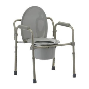 Nova 8700-R Folding Commode with Standard Seat Great for Travel Nova 8700-R Folding Commode with Standard Seat Great for Travel Commodes Nova Medical - Americare Medical Supply