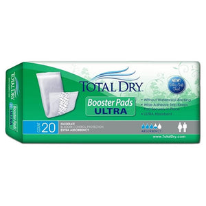 Total Dry Booster Pads 20 Ultra Total Dry Booster Pads 20 Ultra Booster Pads TOTAL DRY - Americare Medical Supply