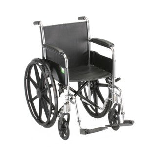 Nova Hammertone Wheelchair 16 Inch With Fixed Arms & Swingaway Footrest Nova Hammertone Wheelchair 16 Inch With Fixed Arms & Swingaway Footrest Wheelchairs Nova - Americare Medical Supply