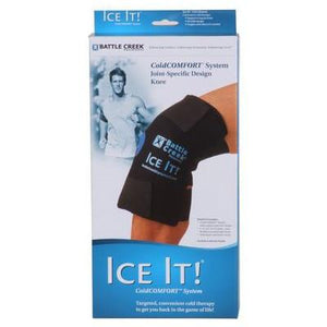 Battle Creek Ice It Cold Comfort System Knee Wrap Battle Creek Ice It Cold Comfort System Knee Wrap Hot Cold Therapy Systems Battle Creek - Americare Medical Supply