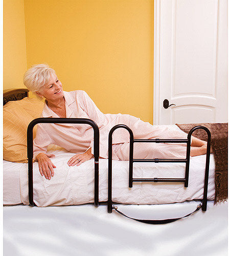 Carex Health Brands Easy-Up Bed Rail