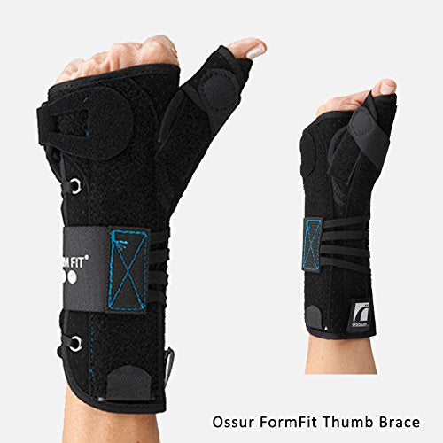 Ossur Form Fit Universal Wrist 8 IN/UNI/LT Ossur Form Fit Universal Wrist 8 IN/UNI/LT Wrist Support Ossur - Americare Medical Supply