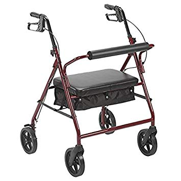 Drive Bariatric Rollator with 8