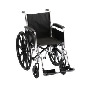 Nova Hammertone Wheelchair 20 Inch With Full Arms & Swing Away Footrests Nylon Nova Hammertone Wheelchair 20 Inch With Full Arms & Swing Away Footrests Nylon Wheelchairs Nova - Americare Medical Supply