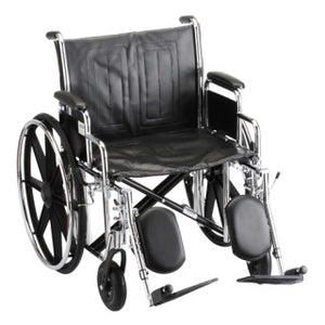 Nova Hammertone Wheelchair 22 Inch With Detachable Arms & Elevating Leg Rests Nova Hammertone Wheelchair 22 Inch With Detachable Arms & Elevating Leg Rests Wheelchairs Nova - Americare Medical Supply