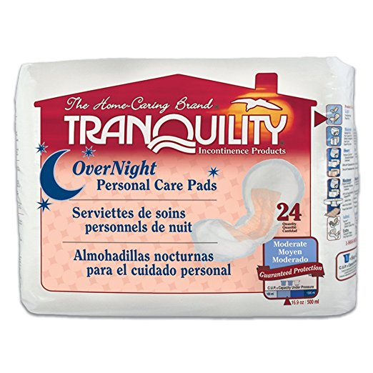 Tranquility Overnights Personal Care Pads Tranquility Overnights Personal Care Pads Bladder Pads Tranquility - Americare Medical Supply