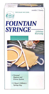 Cara Fountain Syringe Cara Fountain Syringe Enema supplies Cara - Americare Medical Supply
