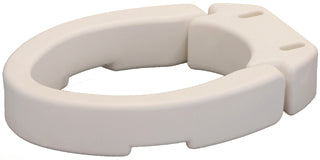 "Nova Medical Toilet Seat Riser Elongated Hinged Up To 3 1/2"""