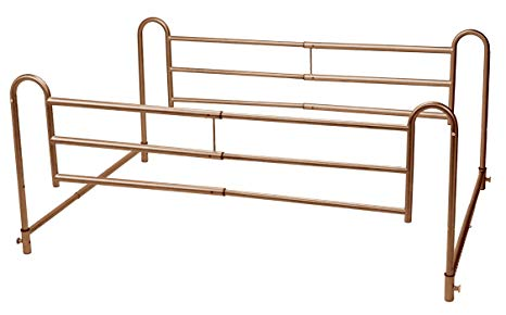Drive Tool-Free Adjustable Length Home-Style Bed Rail Drive Tool-Free Adjustable Length Home-Style Bed Rail Bed Rails Drive - Americare Medical Supply