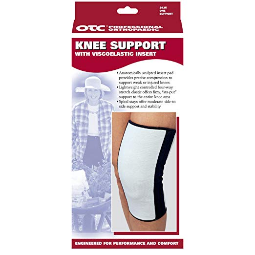 OTC Knee Support with ViscoElastic Insert Size: Large #2425