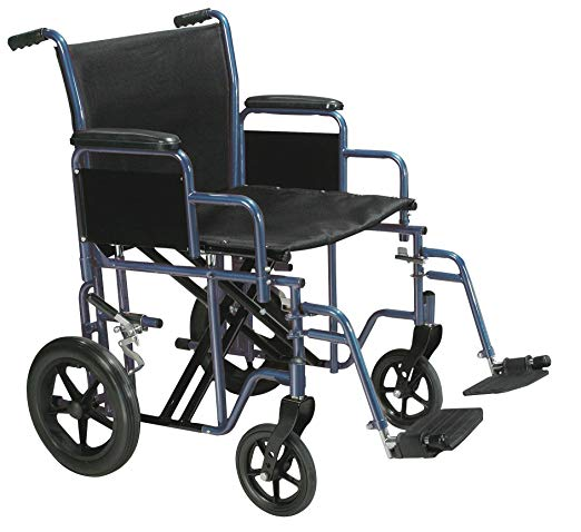 Drive Bariatric Steel Transport Chair Drive Bariatric Steel Transport Chair Transport Wheelchairs Drive - Americare Medical Supply