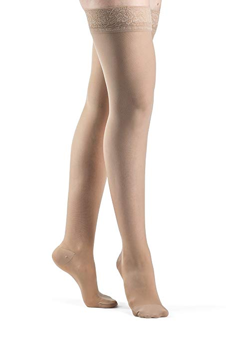 Sigvaris Eversheer Compression Stockings Thigh High Closed Toe 20-30mmHg Sigvaris Eversheer Compression Stockings Thigh High Closed Toe 20-30mmHg Compression Stocking Sigvaris - Americare Medical Supply