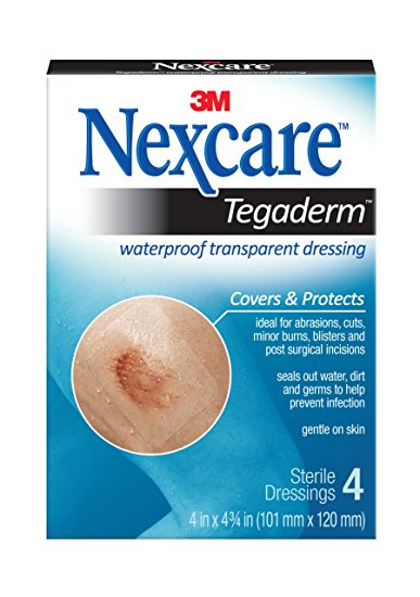 3M Nexcare Tegaderm 4 Dressings Various Sizes 3M Nexcare Tegaderm 4 Dressings Various Sizes Dressings 3M - Americare Medical Supply