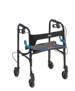 "Drive Clever- Lite Walker 5"" Casters Drive Clever- Lite Walker 5"" Casters Walkers Drive - Americare Medical Supply"