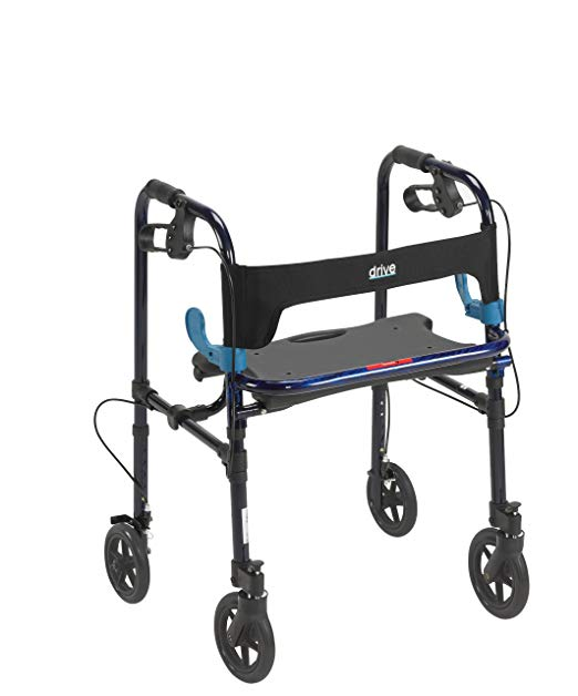 Drive Clever- Lite Walker Adult With 8