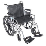 Drive Chrome Sport Wheelchair Drive Chrome Sport Wheelchair Wheelchairs Drive - Americare Medical Supply