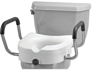 Nova Raised Toilet Seat With Arms Nova Raised Toilet Seat With Arms Raised Toilet Seat Nova - Americare Medical Supply