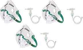 MedX Oxygen Mask With Tubing 7' MedX Oxygen Mask With Tubing 7' Masks MedX - Americare Medical Supply