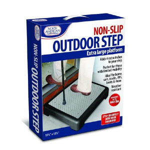 "North American Outdoor Step Extra 4"" North American Outdoor Step Extra 4"" Medical Ramps North American - Americare Medical Supply"