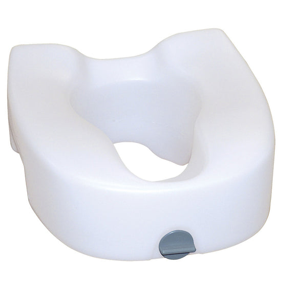 Drive Premium Plastic Raised, Regular/Elongated Toilet Seat, with Lock Drive Premium Plastic Raised, Regular/Elongated Toilet Seat, with Lock Raised Toilet Seats Drive - Americare Medical Supply