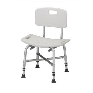 Nova Bath- Heavy Duty Seat With Back