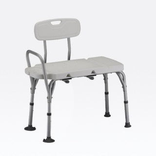 Nova Bath- Bariatric Transfer Bench with Detachable Back