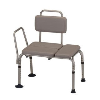 Nova Bath- Padded Transfer Bench with Detachable Back