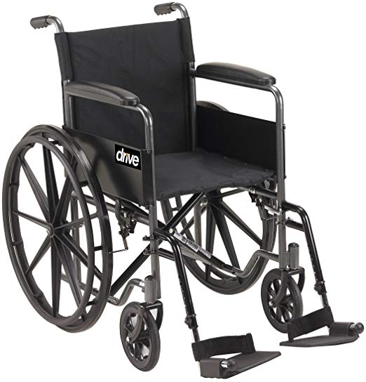 Drive Silver Sport 1 Wheelchair Drive Silver Sport 1 Wheelchair Wheelchairs Drive - Americare Medical Supply