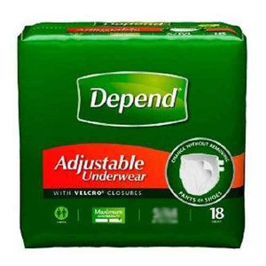 Depend Absorbent Underwear - Heavy Absorbency Depend Absorbent Underwear - Heavy Absorbency Pull-On Briefs Depend - Americare Medical Supply