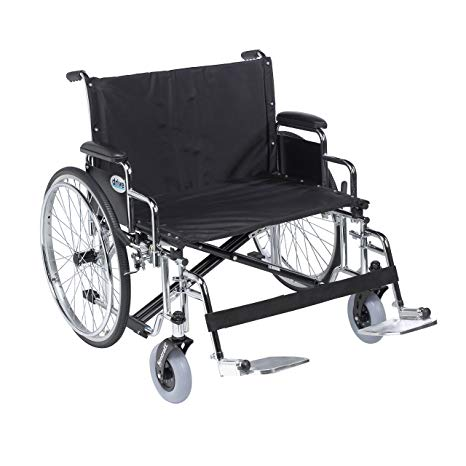 Drive Bariatric Sentra EC Heavy-Duty, Extra-Extra-Wide Wheelchair Drive Bariatric Sentra EC Heavy-Duty, Extra-Extra-Wide Wheelchair Bariatric Wheelchair Drive - Americare Medical Supply