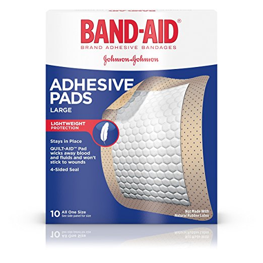 Band-Aid Water Block Adhesive Bandages, Large Band-Aid Water Block Adhesive Bandages, Large Bandages Band-Aid - Americare Medical Supply