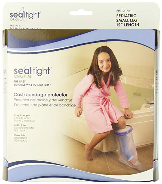 Seal Tight Original Cast Bandage Protector Pediatric Small Leg 12