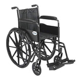 Drive Silver Sport 2 Wheelchair Drive Silver Sport 2 Wheelchair Wheelchairs Drive - Americare Medical Supply