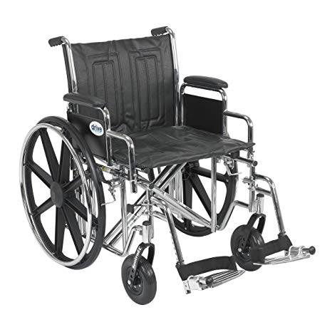 Drive Bariatric Sentra EC Heavy-Duty Wheelchair Drive Bariatric Sentra EC Heavy-Duty Wheelchair Bariatric Wheelchair Drive - Americare Medical Supply