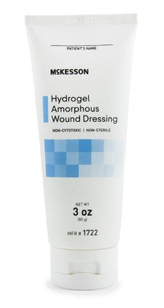 Mckesson Hydrogel Amorphous Dressing 3 oz. NonSterile Mckesson Hydrogel Amorphous Dressing 3 oz. NonSterile Hydrogels McKesson - Americare Medical Supply