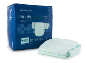 McKesson NonWoven Incontinent Brief - Heavy Absorbency McKesson NonWoven Incontinent Brief - Heavy Absorbency Fitted Tab Briefs McKesson - Americare Medical Supply