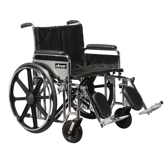Drive Bariatric Sentra Extra-Heavy-Duty Wheelchair Drive Bariatric Sentra Extra-Heavy-Duty Wheelchair Bariatric Wheelchair Drive - Americare Medical Supply