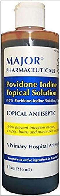 Major Povidone Iodine Topical Solutions Major Povidone Iodine Topical Solutions Antiseptic Wash Major - Americare Medical Supply